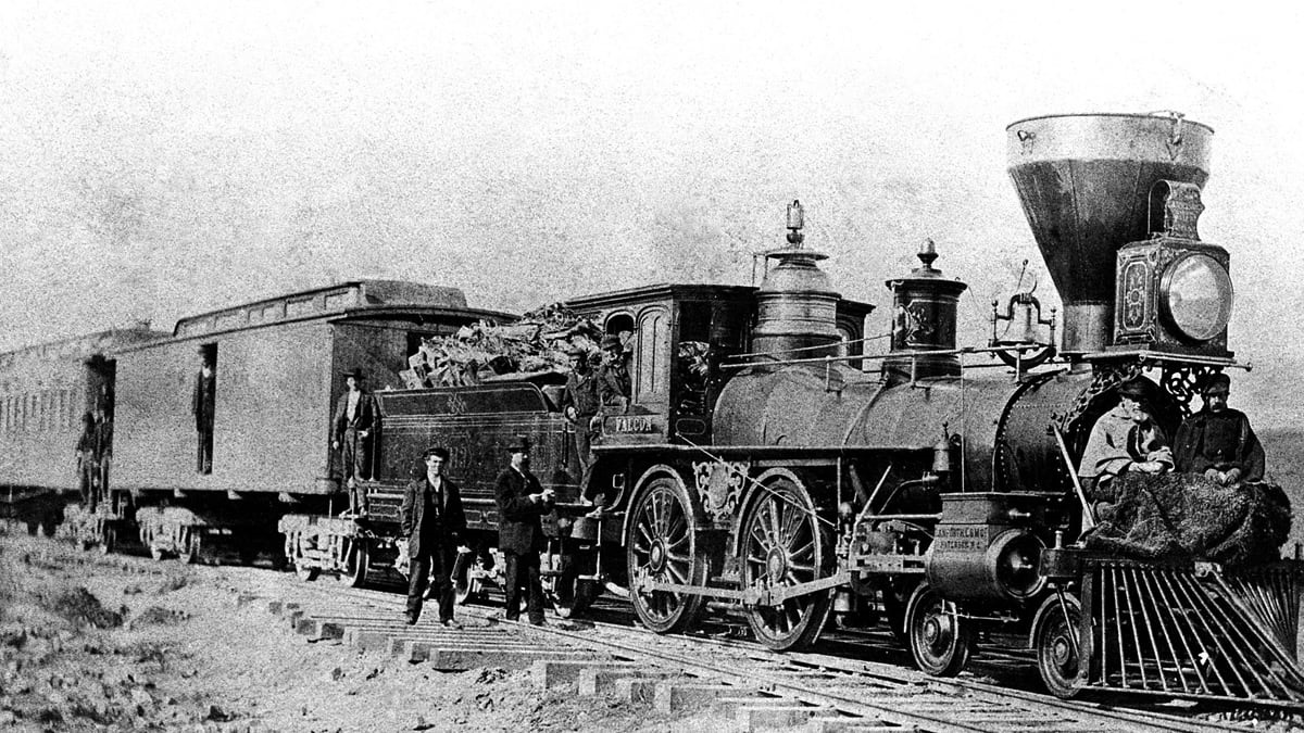 The Story Of America's First Trans-Continental Railroad